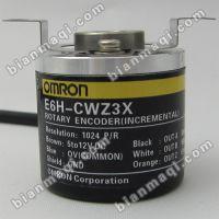 现货热销 E6A2-CS5C 60P/R旋转编码器外径25mm实心轴4mmOMRON欧姆龙