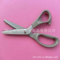 【厂家直销】批发供应高品质不锈钢花边剪裁缝剪 牙布剪刀(图)