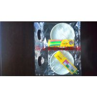 生日蛋糕蜡烛包装机 一次性生日餐具组合自动包装机械