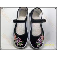 厂家供应低价绣花布鞋老北京布鞋批发