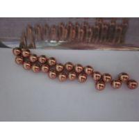 供应广东钢球厂G200级广东高精密度H62铜球(2.3mm)