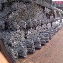 旺来镀锌丝护栏网 带刺绳勾花护栏 果园勾花护栏