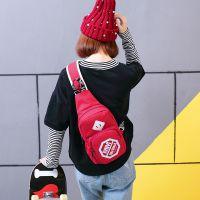 新款男士胸包女韩版休闲包斜挎包运动单肩包时尚背包包潮流腰包女