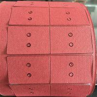 厂家供应优质防火红色快巴纸 绝缘垫圈 环保快巴介子订做各种垫片