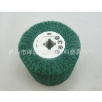3M绿色拉丝轮/不锈钢拉丝机/电动拉丝机/抛光轮/尼龙轮