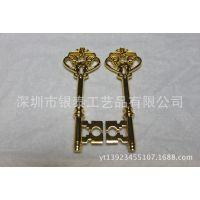 厂家直销 金属式吊坠 镀金钥匙吊坠 外型美观 送礼佳品 价格实惠