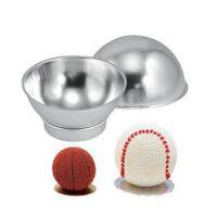 热销供应 DIY铝制足球形状蛋糕模 家用蛋糕模具