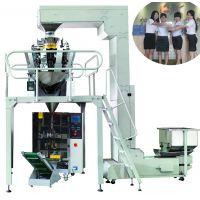 棉花糖包装机 全自动充气型糖果包装机械生产线
