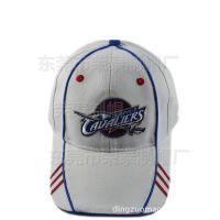 时尚NBA球迷帽子运动帽 新款篮球俱乐部棒球帽 骑士球队帽子定制