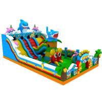 广州潮州市充气城堡玩具价格广州揭阳市大型充气玩具堡款式
