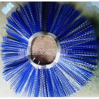 安徽龙威刷业直销山猫扫地机滚刷刷片 内径162mm凹凸型尼龙棒弹性钢丝刷