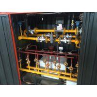 河北百亚专业生产CNG调压计量撬 燃气锅炉减压供气设备 800立方压缩天然气减压撬