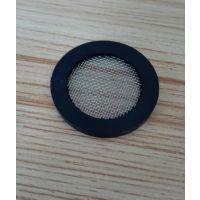 漏头型橡胶包边过滤网垫片不锈钢滤网30*21*3mm今日价格