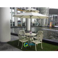 2015新款户外桌椅 广州国际会议中心户外餐桌椅 阳台休闲家具