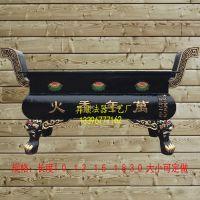 昇顺法器铸造长方形铸铁香炉 万年香火庙门口香炉 广场插香香炉