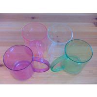 厂家直销透明时尚塑料注塑水杯随手杯漱口杯礼品杯