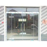 供应郑州维修玻璃门|安装钢化玻璃门|玻璃门换不锈钢把手 合页