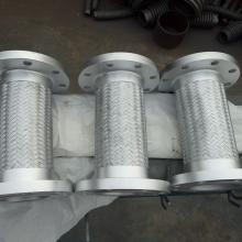 浙江机械行业不锈钢金属软管DN300L=800柔性好金属软连接【润宏】
