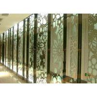 厂家直销玫瑰金不锈钢雕花装饰板,压花、无指纹蚀刻花型工艺