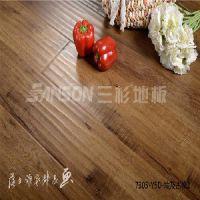 复合地板招商:价格适中的三杉强化木地板,厂家火热供应