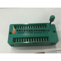 日本 3M TEXTOOL 228-1277-00-0602J DIP28PIN 锁紧座 宽体