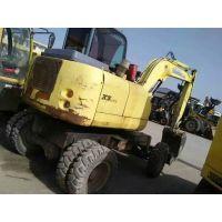 供应犀牛二手轮胎式挖掘机价格 成都轮胎式二手挖掘机