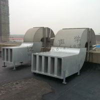 动力设备噪声治理 为美利驰(MERITS)医疗器械公司提供风机降噪工程 噪音处理 隔声 吸声 隔音