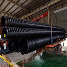 波纹管 钢带增强聚乙烯PE螺旋波纹管