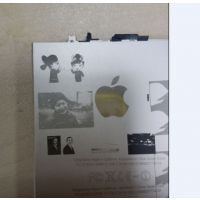 苹果手机iphone6/plus后盖图案激光打标机 手机后盖图案个性设计激光打码机 镭射机