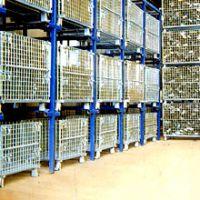 供应重庆固联,精致,折叠式仓储笼承载1000kg1000*800*840mm