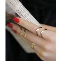 B402韩版戒指女时尚夸张食指韩国关节戒指三件套戒指指环
