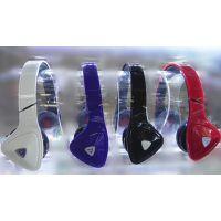 国鑫头戴三角立体声耳机 插卡运动型MP3 支持收音 四色可选