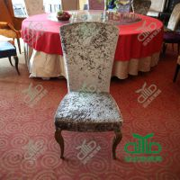 深圳 供应金属餐椅 酒店用金属餐椅 五金椅 PU餐椅 皮革餐椅