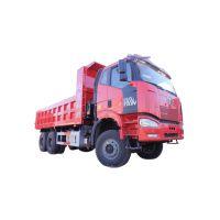 一汽解放J6P 自卸车 6.2米 国四 350马力 6×4
