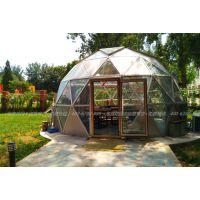 泡泡花园景区圆形篷房 圆形阳光房设计安装