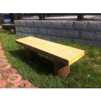户外水泥仿木桌椅、座椅、耐腐蚀加工定做