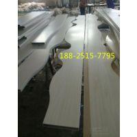 弧形木纹铝方管-弧形木纹铝天花吊顶-广州欧佰天花专属制造
