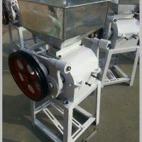 多功能电动挤扁机 家用黄豆专用挤扁机 粮食加工设备