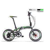 批发折叠车骓特TW2088小轮车BMX 16速山地自行车折叠自行车