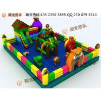 各种款式充气城堡,充气乐园 ,儿童蹦蹦床, 充气玩具规格可定做