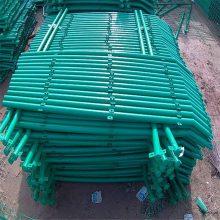 勾花护栏网 折弯护栏网厂家 家装防护栏