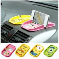 韩国时尚卡通可爱车载车用手机防滑垫 苹果5S6三星导航支架手机座
