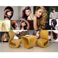 米诺大型壁画 厂家定制时尚魅力发型沙龙美发店墙纸 潮流沙宣造型理发店发廊壁纸