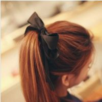 韩国韩版发饰 双层蝴蝶结头饰 可爱气质发圈发绳发饰