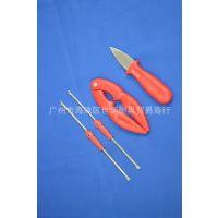 厂家生产供应 蟹钳套装四件套 不锈钢成品蟹工具套装