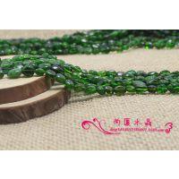 ***绿碧玺碎石随意形散珠子半成品 DIY手工饰品配件特价批发