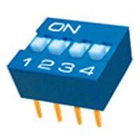 插件四位DIP拨码开关D1-004
