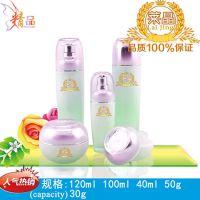 时尚流行爆款 玻璃乳液瓶 化妆水玻璃瓶 50g膏霜 40ml精华液瓶 广州包材厂直销