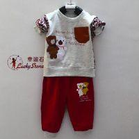 潍坊哪里有供应优质的幸运石孕婴套装:新生儿服装代理
