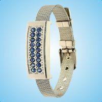 礼品u盘批发厂家直批订制 新款创意水晶珠宝8g手腕U盘 产地货源